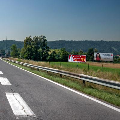 Bigboard panoji ob avtocestah