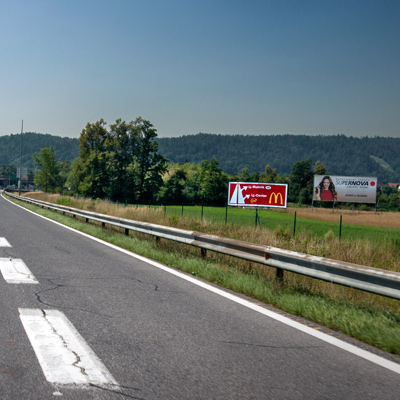 Bigboards at highways